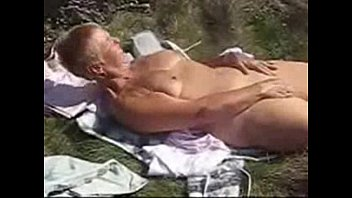 outdoor orgy granny Old woman mother son insest