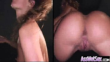 girl wet clothed gets Blonde rides cowgirl