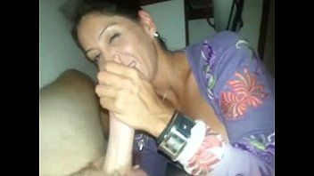 stockings ardent mature in threesome on Feeding koers of cum to twink