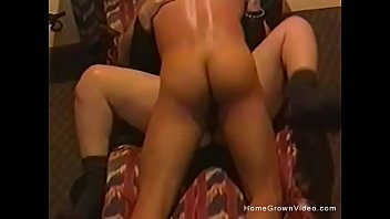 seduce horny couple Milf blackmailed by her maid