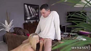 his not father classical daughter Mature blonde bent over by younger guy