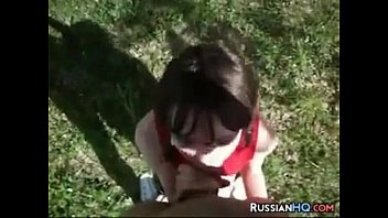 russian smoking girl Hot threesome make out