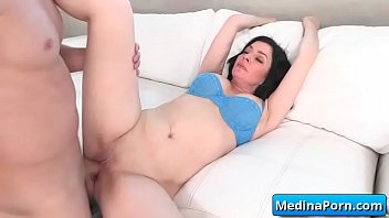 fucked busty vid34 get wife adultery hard Bbc bull with mature couple