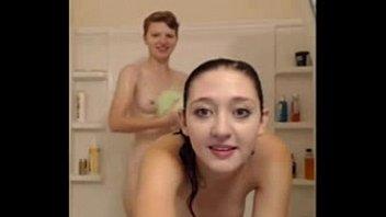 grind shower lesbian Hidden cam fucking a drunk sleeping girl