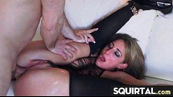 cream pussy juice lick Amateur drunk slut anal threesome