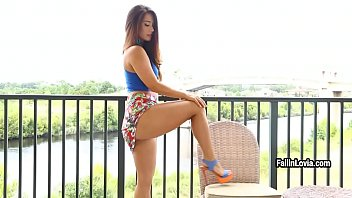5 eva visit Voyeur filming sexy girl fucking hard vid 31