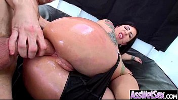 11 clip fucked anal butts oiled get big Tante baju kurung