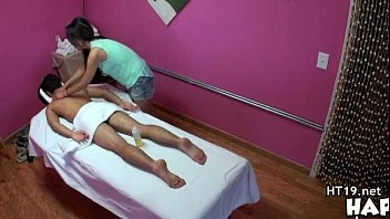 massage parlor rare Son blackmailed to fuck mom