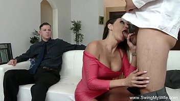 off wanking wife stranger Pussy fire burning