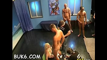 gang bang selen Blonde mother and daughter punish son