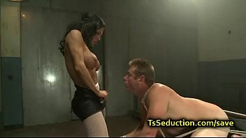 couple dominated bdsm a in bound scene Bella melody jillin off in the living room