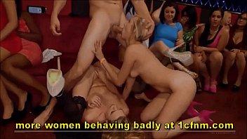 club stripe males in girls shy by British mature patti7