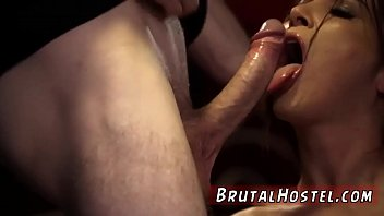 cuckold slave cleans Very young hot brunette