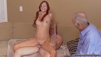 village me his sister fuck brother say Milf threesome facial