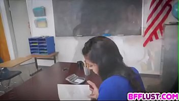 5 fantasies school Candy s killer footjob sockjob