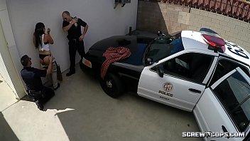 cop a hooker fucks Wife sucking a big dick