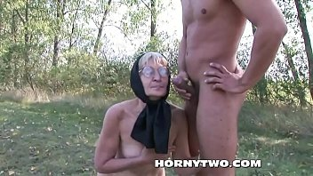 blonde granny hairy Interracial hardcore sex hd
