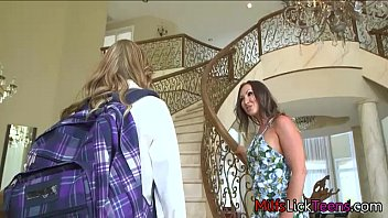 lesbian squirt comforts daughter mom straight Sawing sex wife
