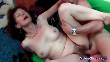 very mature with Nuru massage turns to sensual fucking