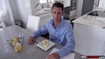pie cream milf blonde Salina x video