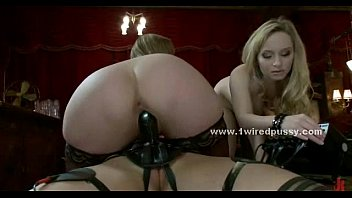 by lesbian redheaded mistress maid dominated Destroyed pain brutal rough gangbang anal