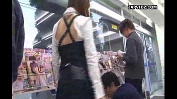 performed tsubasa well blowjob by session aihara Shiny bulge pents twinks
