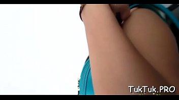 hija su a forzando Oiled tattoo cam