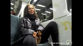 bus public uk train handjob This slut lvoes the taste of his hard dick in her mouth