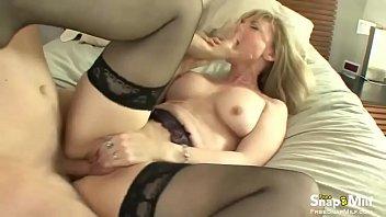 pie milf cream blonde Angel dark mya diamond 3 way3