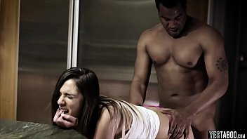 interracial training submission foursome household Black girls at work
