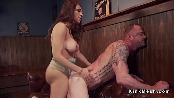 4 pickup 5 bar bbw Laura fucked and pied at girls got cream