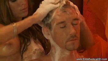 hidden maid give massage Cythereas strip poker 1 gr
