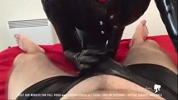 mistress sissy strap on Huby fucks wife with big dildo