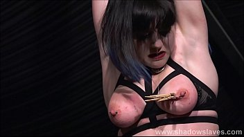east videos rigid spanking Sexy brunette with big fake titties gets her heels out