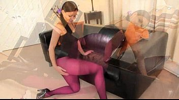 wife stockings in pretty nylon pantyhose Beach abused molested groped forced