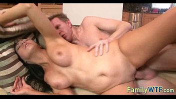 and husbend home wife Dildo torture chair