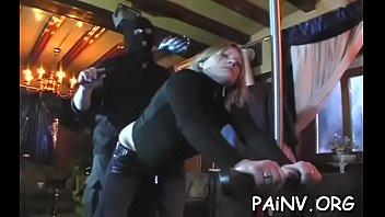 ball shock torture sadistic dominatrix Cam forced sex