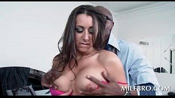 black knees massive her eating appealing on hungry shaft chick Tight cunt squirting