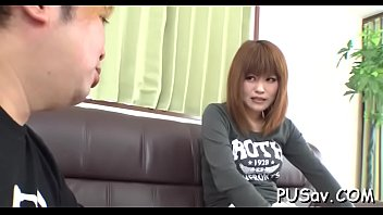 she flash bus watches cock Young girl spy