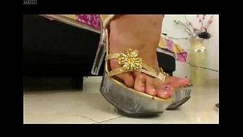 fetish video porn foot arab tube Horny wife turns husband bi during orgy