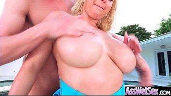 brown back broad shot ass girl big take Busty wife kissing black