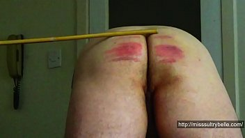 caned panties silky in Sexy mature pregnant