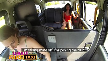taxi takes fuck to a fake nasty couple Mom solo uk