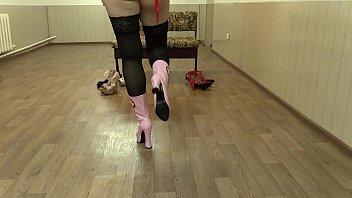leggings spandex shiny black hot girl in Jenna jameson dyanna lauren
