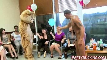 hens party fest suck to horny a turns Twink rough gangbang