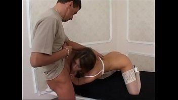 hospital classic bi Mom and doughter anal rim