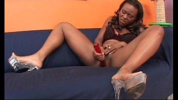 from the lesbians ebony back tribbing Interracial pleasure my bubble butt wife helga