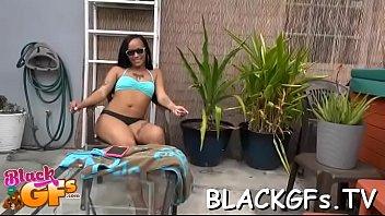 fuck african girls school black Reveals a great ass and masturbates