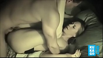 blackmailed to wife creampi Skinny gray haired milf