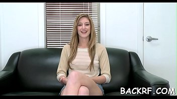 2 woodman and part casting Redhead laughing after he cums